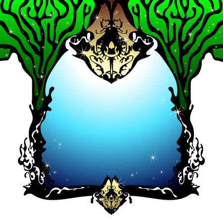elven: background Illustration