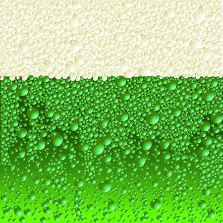 cold day: beer Illustration