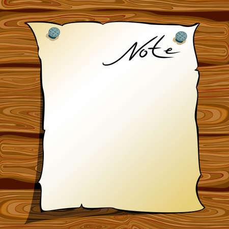 notice-board Stock Vector - 5089298