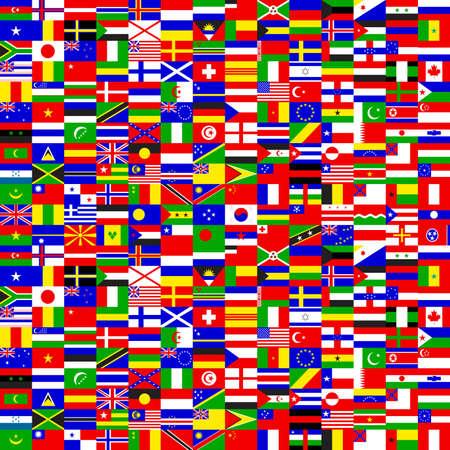 international flags: seamless