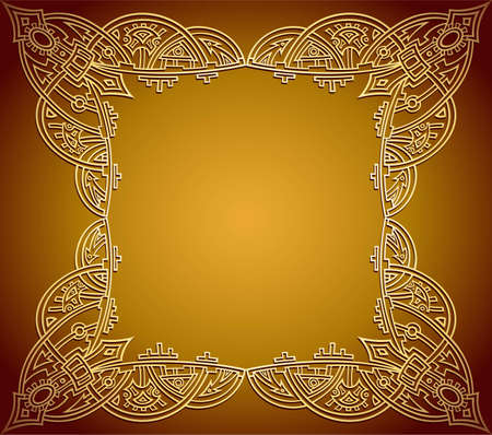 background frame Stock Vector - 5213772