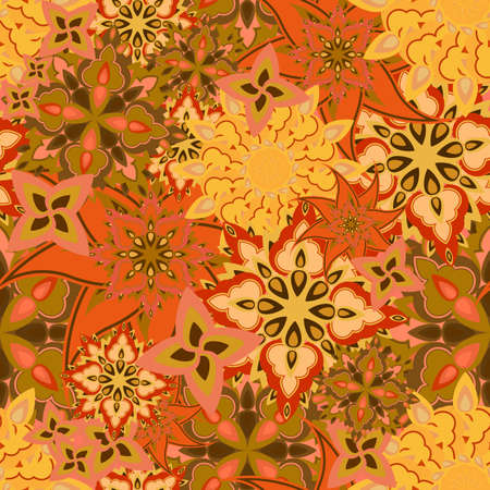 seamless floral texture