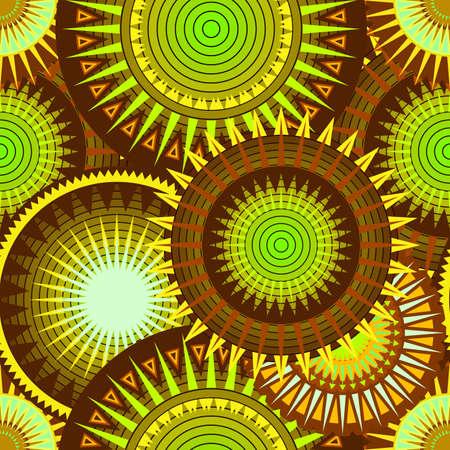 disegni cachemire: Kiwi texture seamless Vettoriali