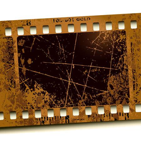 kratzspuren: Foto-film