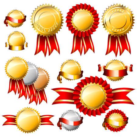 premios: etiquetas de Navidad