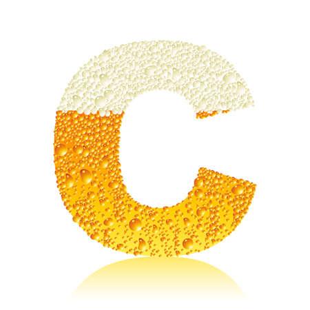alphabet beer C