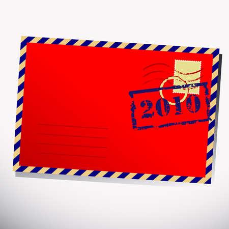 christmas letter Stock Vector - 5920200