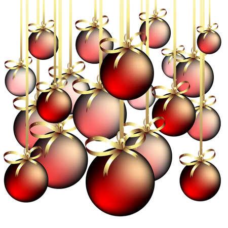 bolls: christmas bolls Illustration