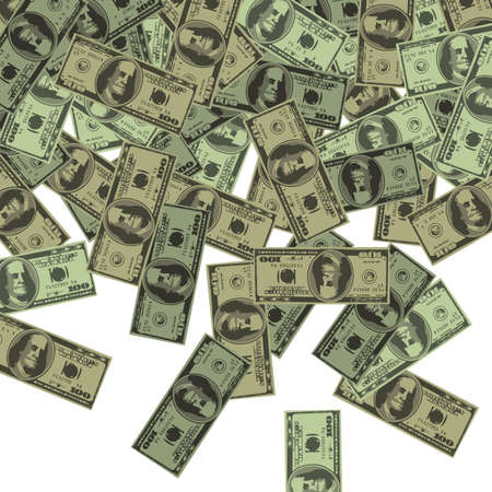 dollar background Vector