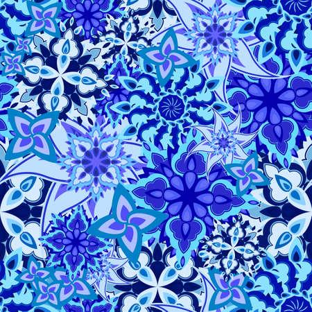 victorian textile: seamless floral texture