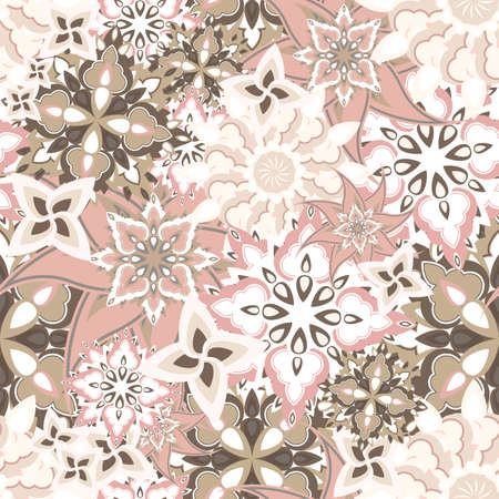 seamless floral texture Vector