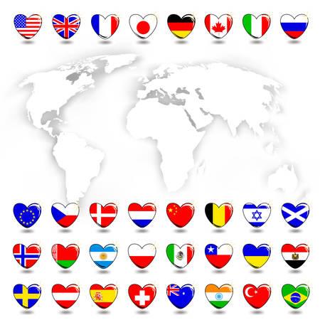 bandera de suecia: Mapa y bandera
