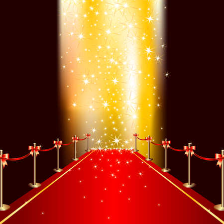 red line: red carpet