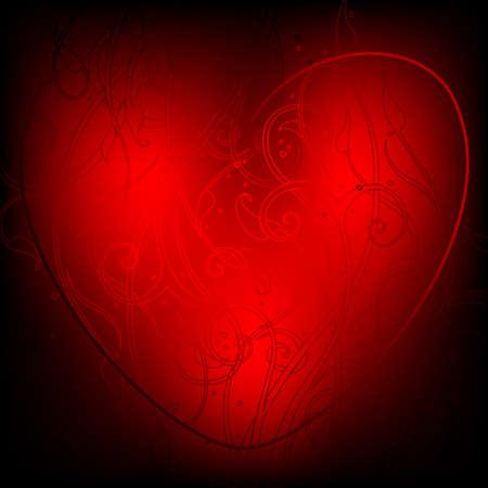 voluptuous: magic heart Illustration