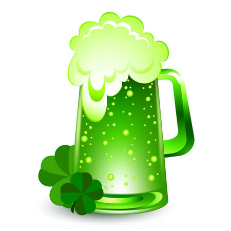 green beer Vector