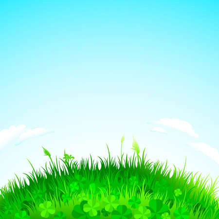 background grass Stock Vector - 6690841
