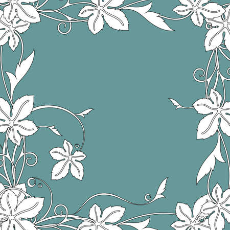 elven: floral background