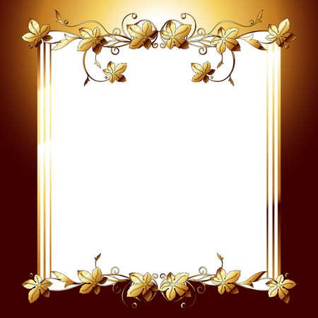 elven: floral background