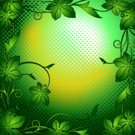 elven: background green Illustration