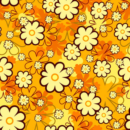 seamless floral texture Stock Vector - 7707352