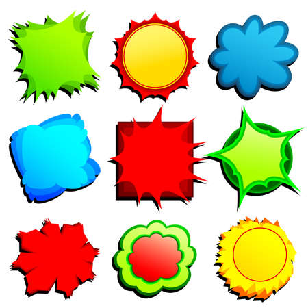 set of tags Stock Vector - 8082744