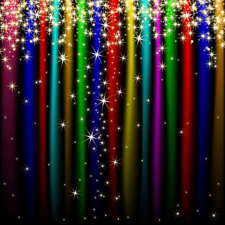 mash: holiday background Illustration