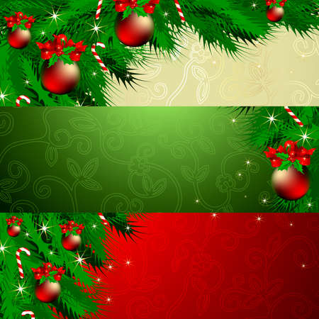 banner christmas Illustration