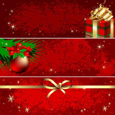 Banner de Navidad Foto de archivo - 8397205