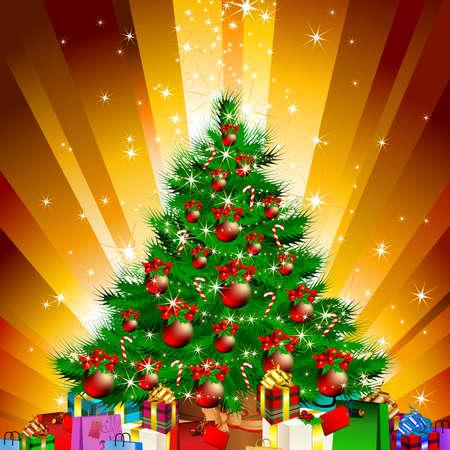 christmas fir Stock Vector - 8397210