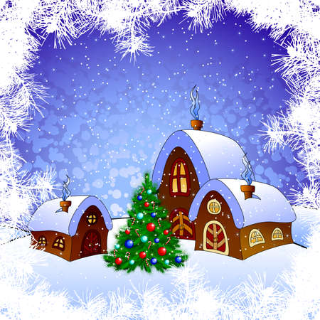 christmas background Stock Vector - 8460528