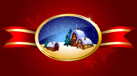 christmas background Stock Vector - 8456061