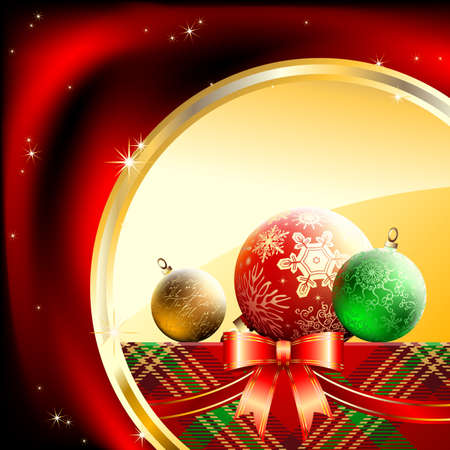 christmas background Stock Vector - 8456073