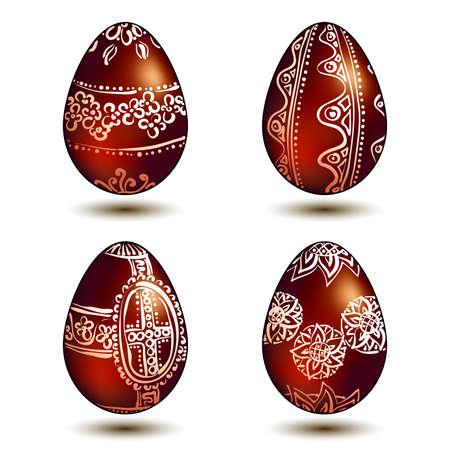Easter Eggs Stock Vector - 9150323