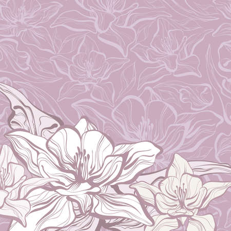 floral ornaments: floral background