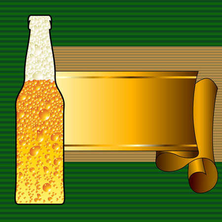 condensation: beer background