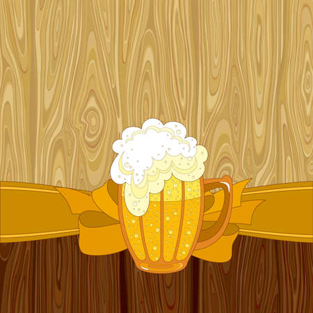 condensation on glass: beer background