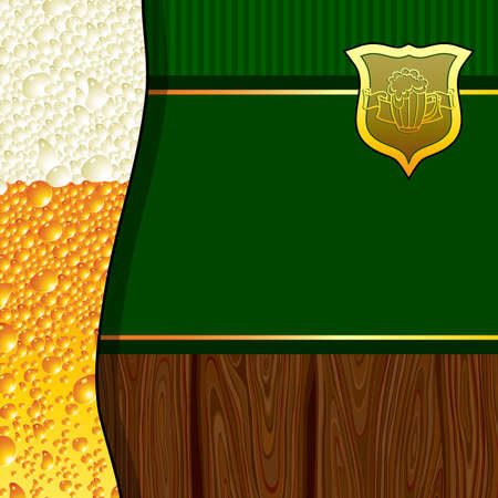 green beer: beer background