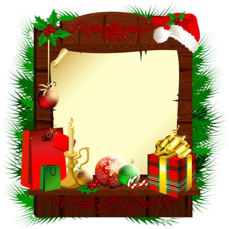 christmas background Stock Vector - 11588223