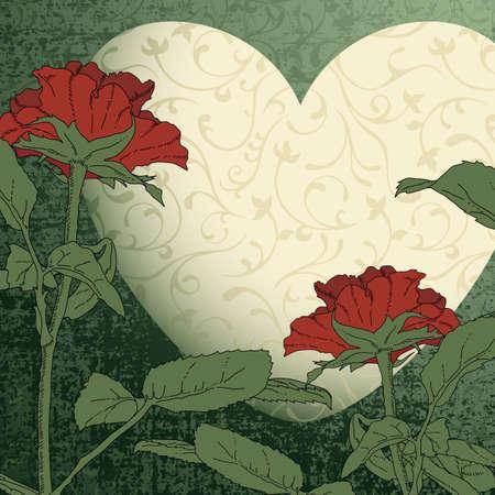 heart decorative Stock Vector - 12346117