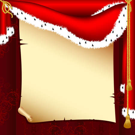 background with paper Vector