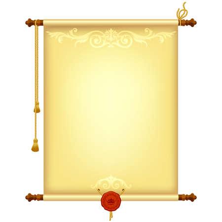 пергамент: фон с бумагой