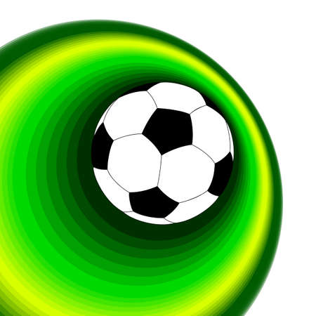 background with ball Stock Vector - 14725513