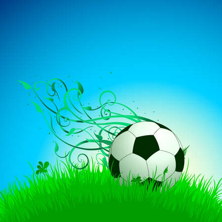background with ball Stock Vector - 14725523