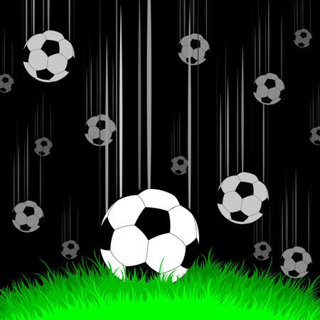 background with balls Stock Vector - 14725530