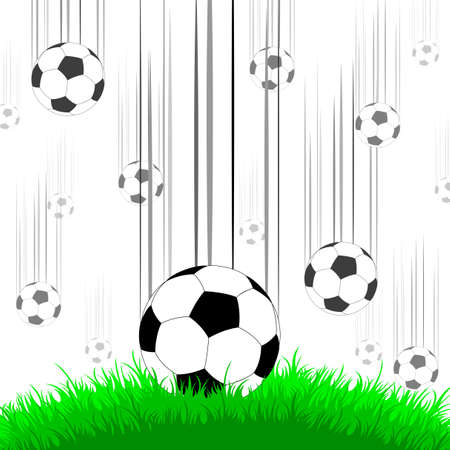 elite sport: background with balls