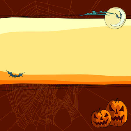 halloween background Stock Vector - 15598460