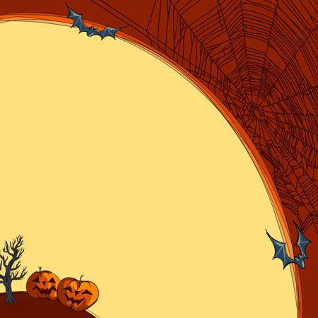 frightful: halloween background