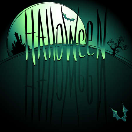 halloween background Stock Vector - 15598459