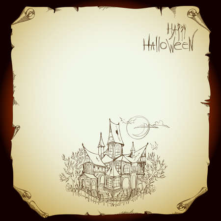 halloween background Stock Vector - 15598477