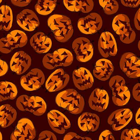 halloween seamless texture Vector